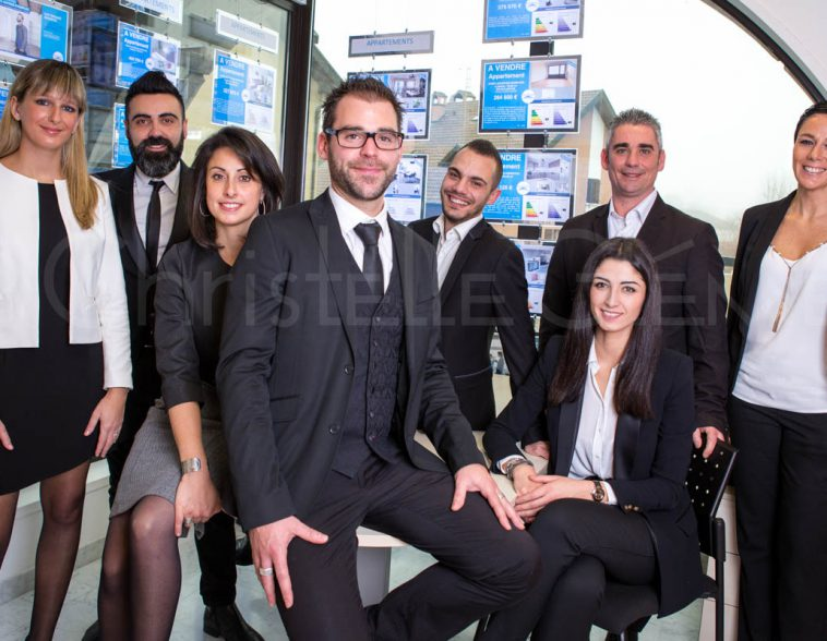 Portrait corporate, agence Guy Hoquet