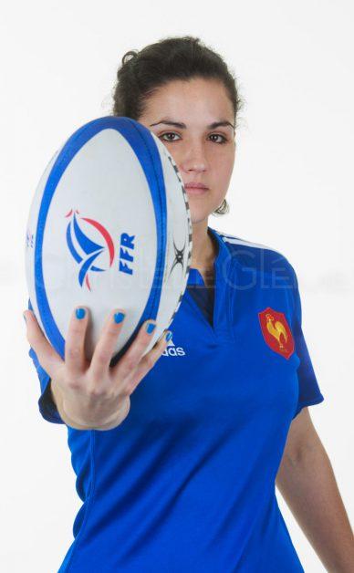 Portrait de l'équipe de France de rugby féminin